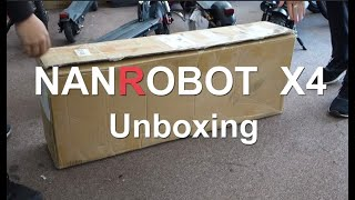 Nanrobot X4 Electric Scooter Unboxing