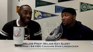 Jai Burney Harrisburg Cougars Star Linebacker Major Key Alert