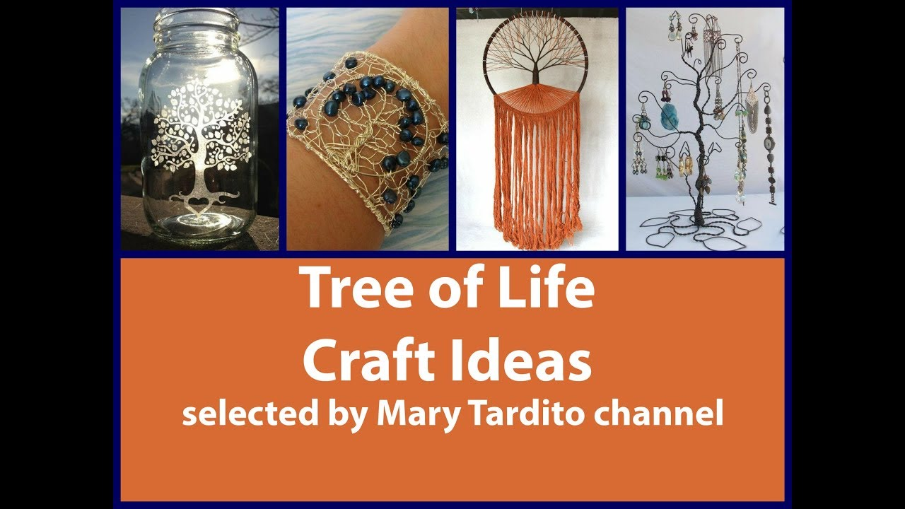 Tree Of Life Crafts Ideas Crafts To Make And Sell Youtube