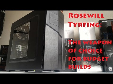 Manic Tech #0020: Rosewill Tyrfing ATX Case Review