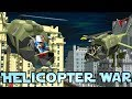 Minecraft War | HELICOPTER WARS - Aircraft Carrier Fleets!