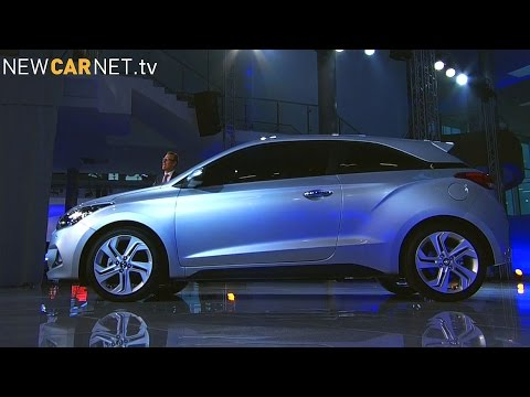 Hyundai Unveils New I20 Coupe Youtube