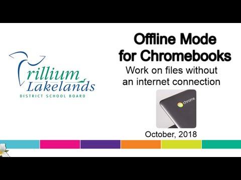 How to edit google docs offline on chromebook