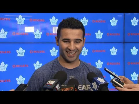 Kadri on ripping Thornton's beard: Thought I was a hockey player, not a barber