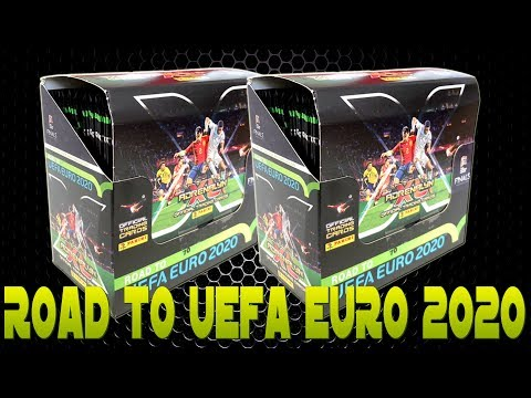 Panini ROAD TO EURO 2020 DISPLAY BOX Unboxing Opening | !!! INVINCIBLE RARE !!!