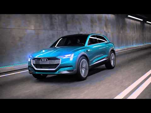 Audi e-tron quattro concept: elektrisch rijplezier zonder compromissen