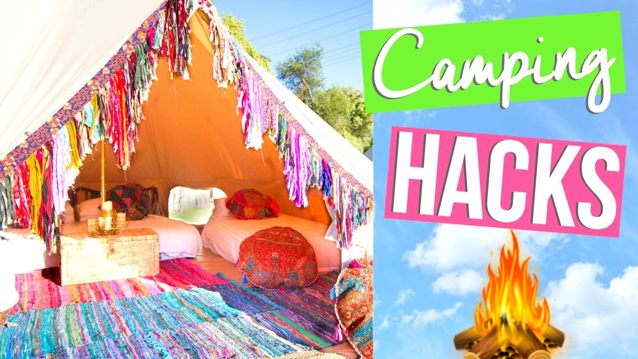 BEST CAMPING HACKS & TIPS!   SUMMER VACATION GUIDE 2017 ...