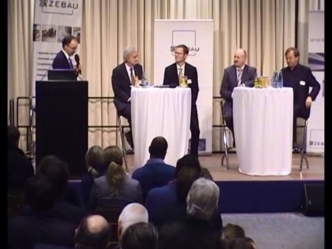 6. Norddeutsche Passivhauskonferenz der ZEBAU GmbH - Podiumsdiskussion