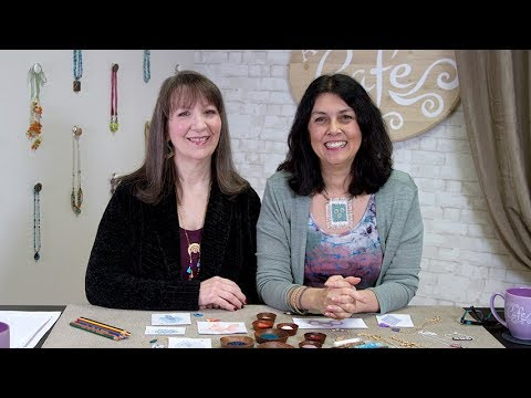 Artbeads Cafe - Brick Stitch And Peyote Stitch Seed Bead Cuties For Jewelry