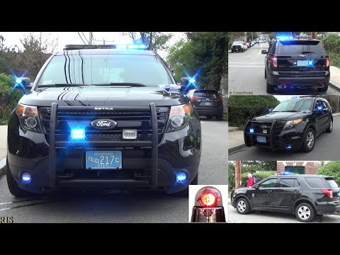 Ford Police Interceptor Utility with Ghost Graphics