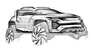 How to sketch car & design