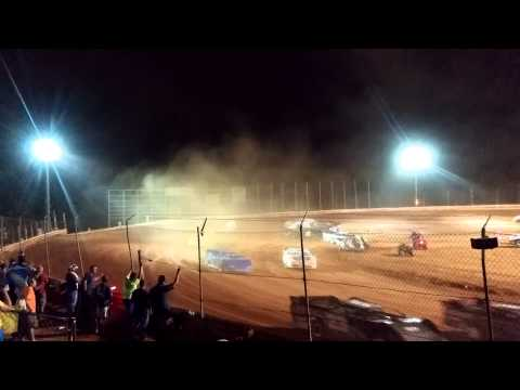 Part 1.Michael Wells Late Model Feature 8-22-2015