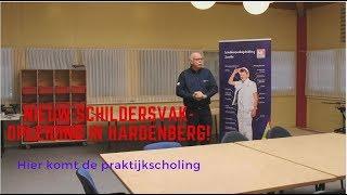 Hardenberg krijgt een Schildersvakopleiding, Arend is enthousiast