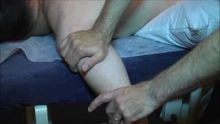 טיפול בכתף - שכיבה על הבטן