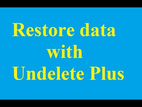 Install And Use The Undelete Plus Restore Data - Betdownload.com