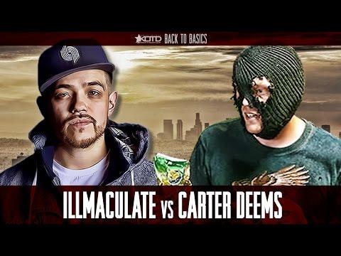 KOTD - Rap Battle - Illmaculate vs Carter Deems