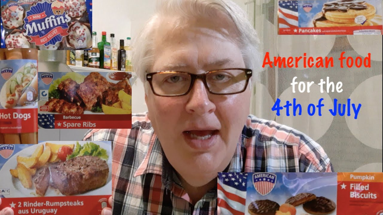 "American tries ""American"" food from Aldi!"