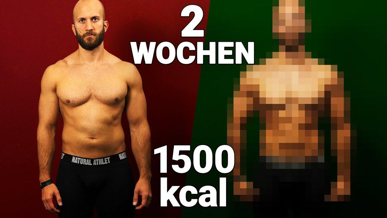 wie schnell abnehmen mit 1500 kcal