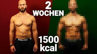 Selbstversuch: 2 Wochen nur 1500 Kalorien