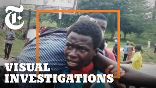 How Elite Nigerian Soldiers Massacred Unarmed Religious Marchers | NYT - Visual Investigations