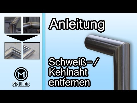 superschnell flache schmale metalloberfl chen schleifen satinieren funnydog tv. Black Bedroom Furniture Sets. Home Design Ideas