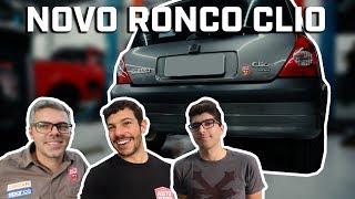 RENAULT CLIO 1.6 16V GANHANDO UM NOVO ABAFADOR (ft. MVS Preparações) | VLOG #151