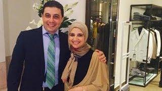 حنان ترك تظهر لأول مرة مع زوجها شقيق الإخوانى حسن مالك...شاهد السبب