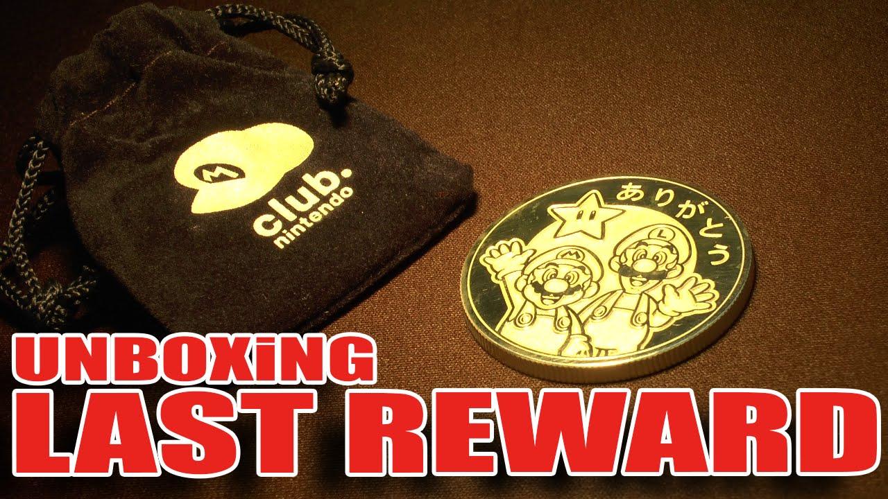 club nintendo goodbye coin ebay