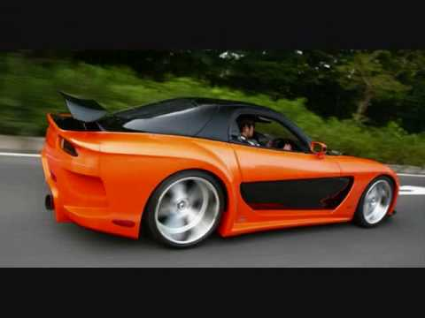 Mazda RX 7 Body Kit Slideshow