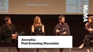 "Duke Johnson, Charlie Kaufman and Jennifer Jason Leigh on ""Anomalisa"" | MoMA FIlm"