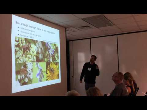 Michael Warriner, Native Bees in Texas and Grasslands Management