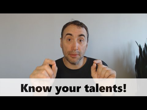Know your talents