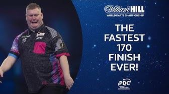 EVANS WINS WITH A 170! | 2019/20 William Hill World Darts Championship