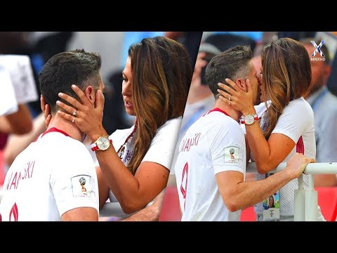 Hottest & Most Beautiful Football Kisses