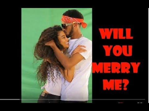 Ethiopian Hip Hop Artist Merkeb Baryagabir Proposed His Girl Friend In Jerusalem