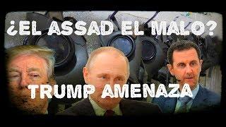 ¿Es El Assad el malo en Siria?