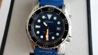 Phoibos Ocean Master 1000M Dive Watch plus New Sydney Strap Co. Products! - Perth WAtch #37