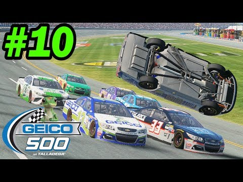DOING MY BEST BOBBY ALLISON IMPRESSION  [Talladega -- NASCAR Heat 2 Cup Series 10/36]