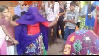 Desi girl dancing Rajasthan Gurjar Karauli