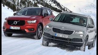 2018 Volvo XC40 vs Skoda Karoq