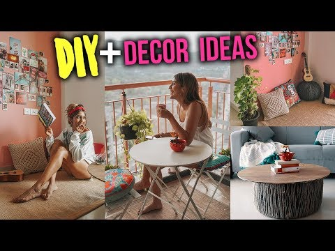 DIY + HOME DECOR 2018 - Cozy Bohemian Vibes | Larissa Dsa