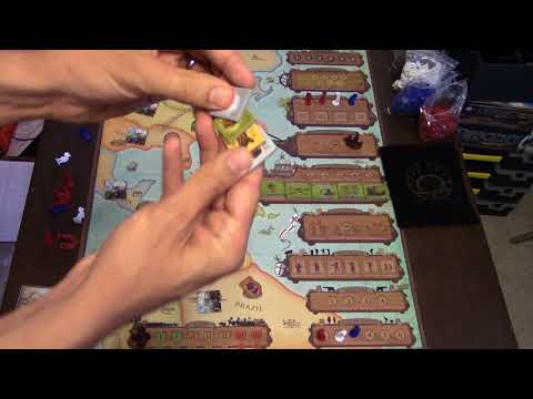 Matt's Boardgame Review Episode 227: Empires Age of Discovery