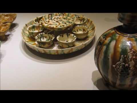 Tang Sancai wares in Asian Civilisation museum