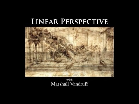 Introduction to Perspective Drawing -- 1994 Chalkboard Lectures with Marshall Vandruff