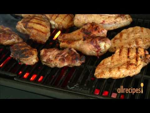 How to BBQ chicken video - Allrecipes.co.uk - YouTube
