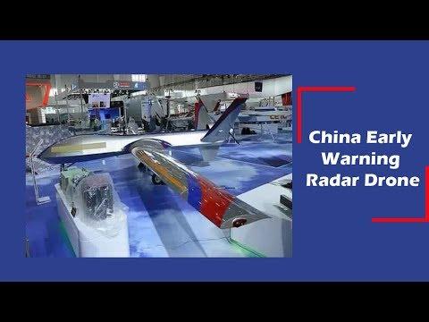 China Displays Early Warning Radar Drone At Zhuhai Airshow 2018