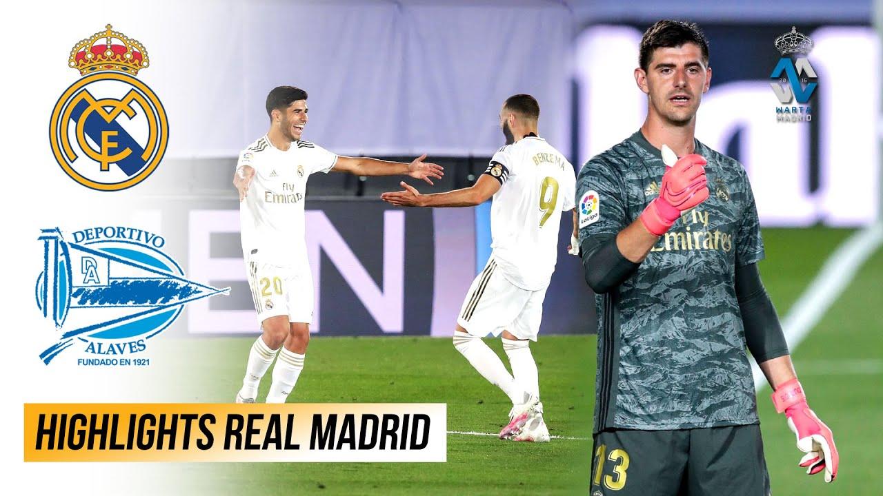 2 Kemenangan Lagi Real Madrid Menuju Juara LaLiga 2019/20 | Peran Penting Thibaut Courtois Musim Ini