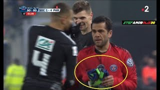 Dani Alves as Goalkeeper 😂 (Full Scene) ⚽ Sochaux Vs PSG 1-4 ⚽ ...