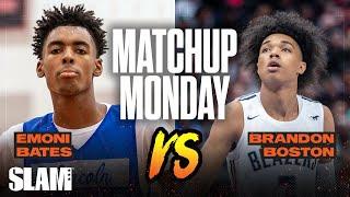 Emoni Bates Vs Bj Boston: Which Wing Has More Nba Potential!? Slam Matchup Monday 😈