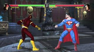 Mortal Kombat vs DC Universe playthrough_The Flash